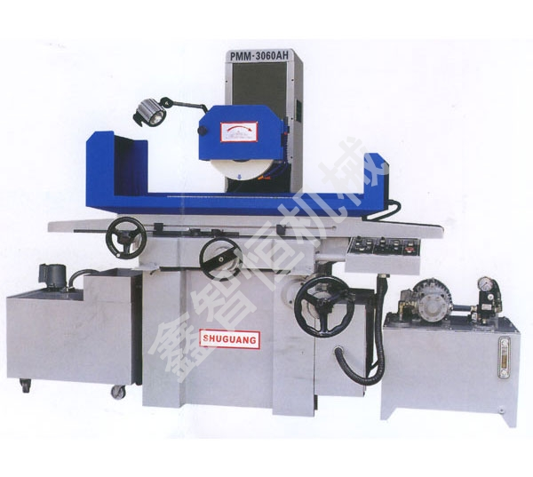 Triaxial surface grinder