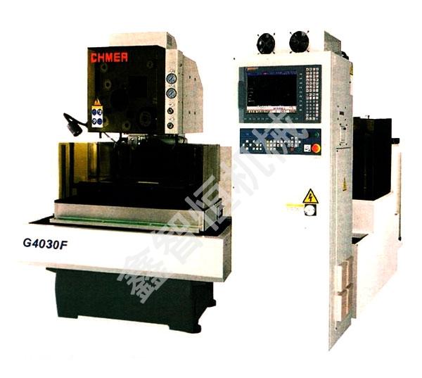 Slow wire cutting machine
